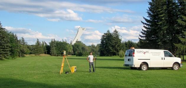 Implantation de nouveaux sentiers dans le Parc Maisonneuve